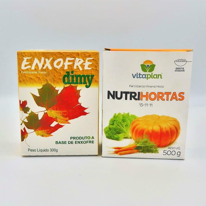 Enxofre + Nutrihortas
