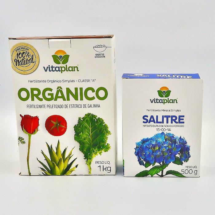 Esterco peletizado + salitre - vitaplan