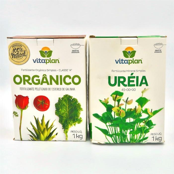 Esterco peletizado + ureia - vitaplan