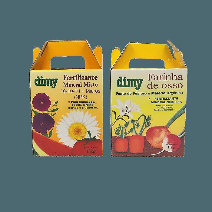 Farinha de Osso + Fertilizante 10.10.10 - dimy