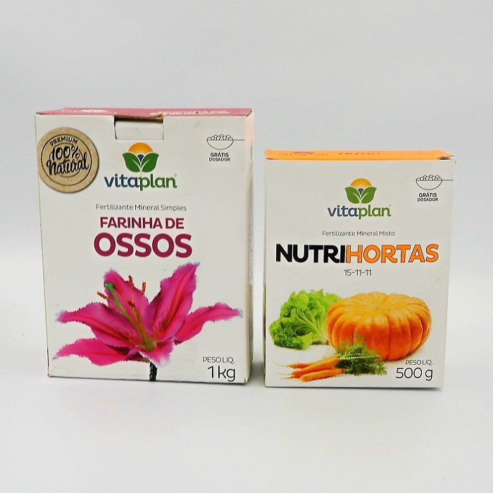 Farinha de ossos + nutrihortas - vitaplan