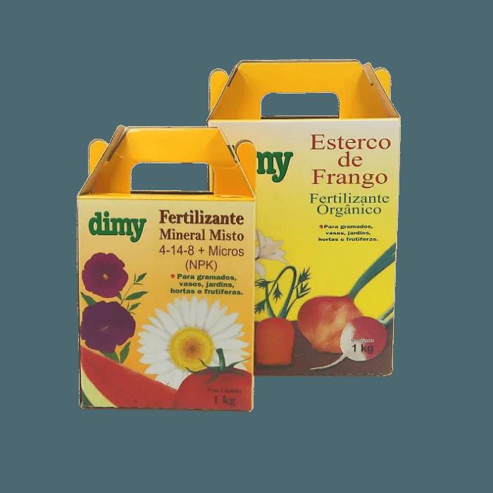 Fertilizante 04.14.08 + Esterco de Frango - dimy