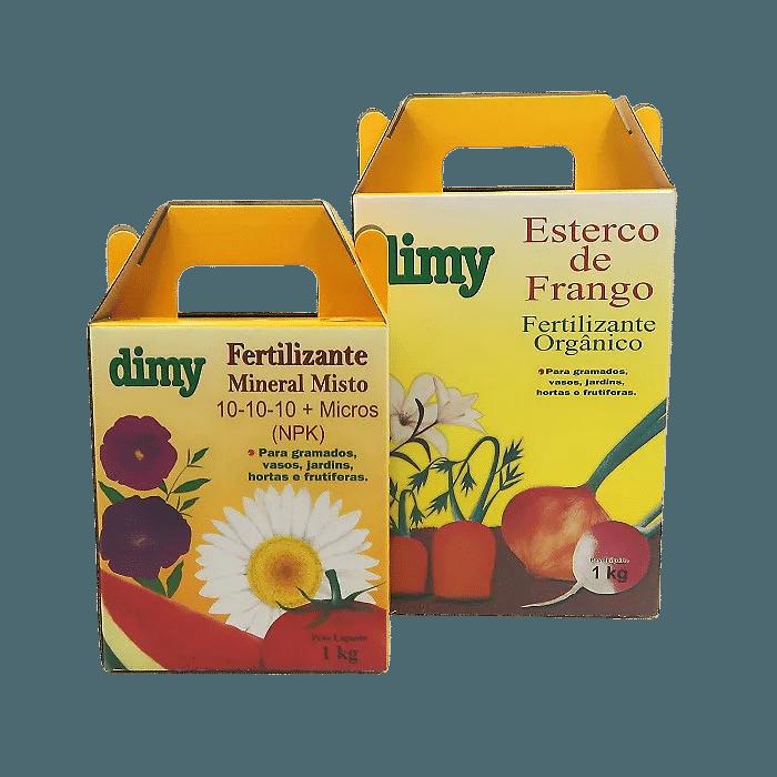 Fertilizante 10.10.10 + Esterco de Frango - dimy