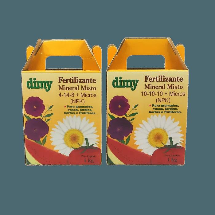 Fertilizante 10.10.10 + Fertilizante 04.14.08 - dimy