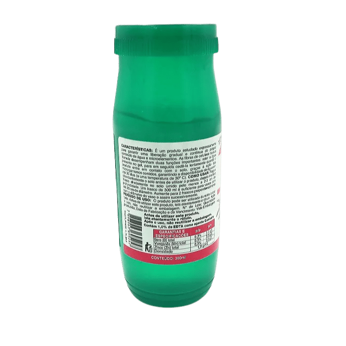 Fertilizante agua em gel - vithal - kit 3 x 300 ml