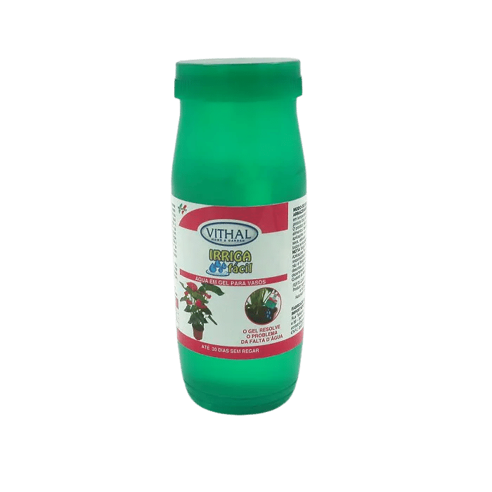 Fertilizante agua em gel - vithal - kit 6 x 300 ml