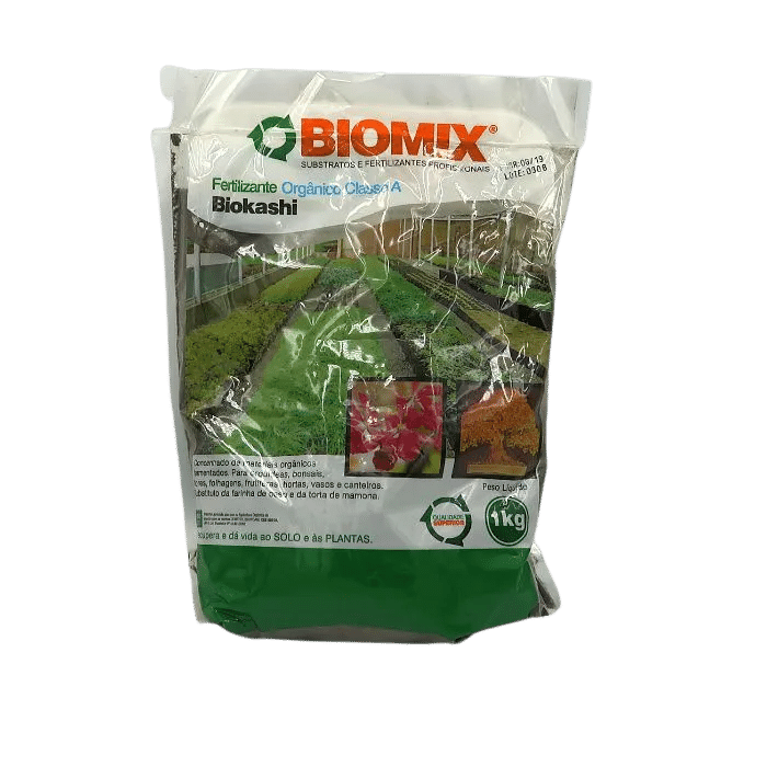 Fertilizante biomix biokashi - kit 2 x 1 kg