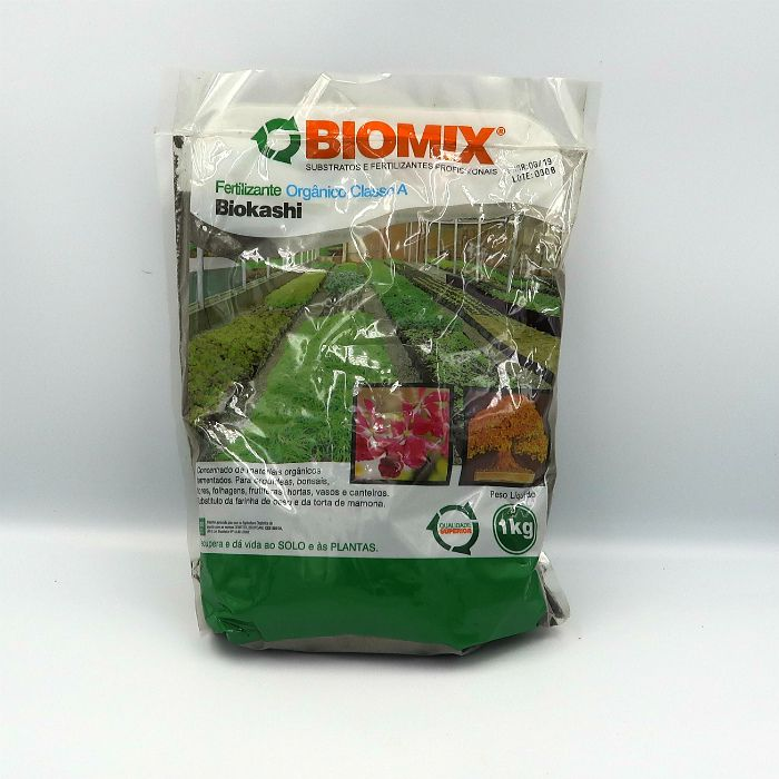 Fertilizante biomix biokashi - kit 3 x 1 kg