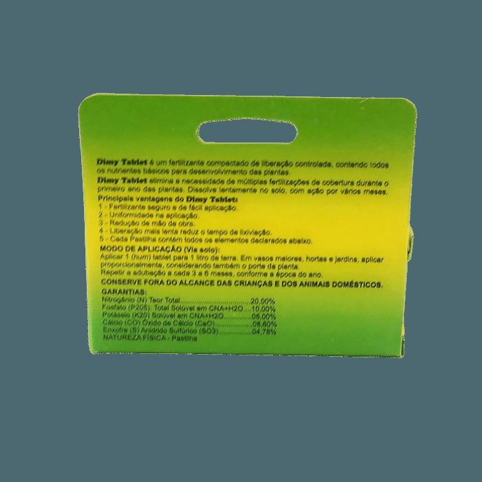 Fertilizante Dimy Tablet 50 gramas