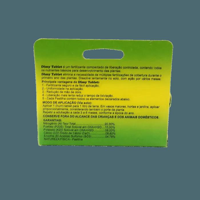 Fertilizante Dimy Tablet - kit 03 x 50 gramas