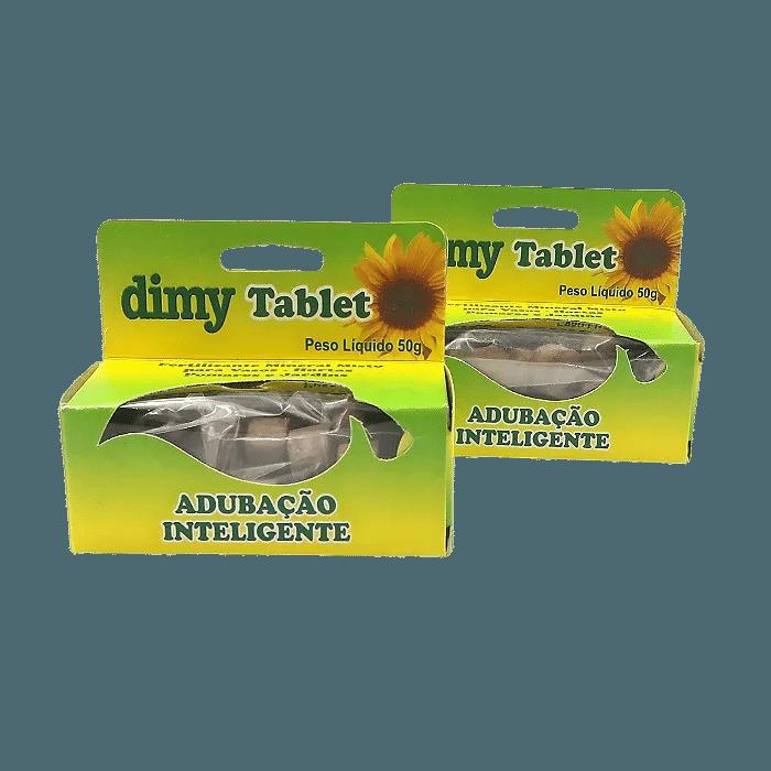 Fertilizante Dimy Tablet - kit 12 x 50 gramas
