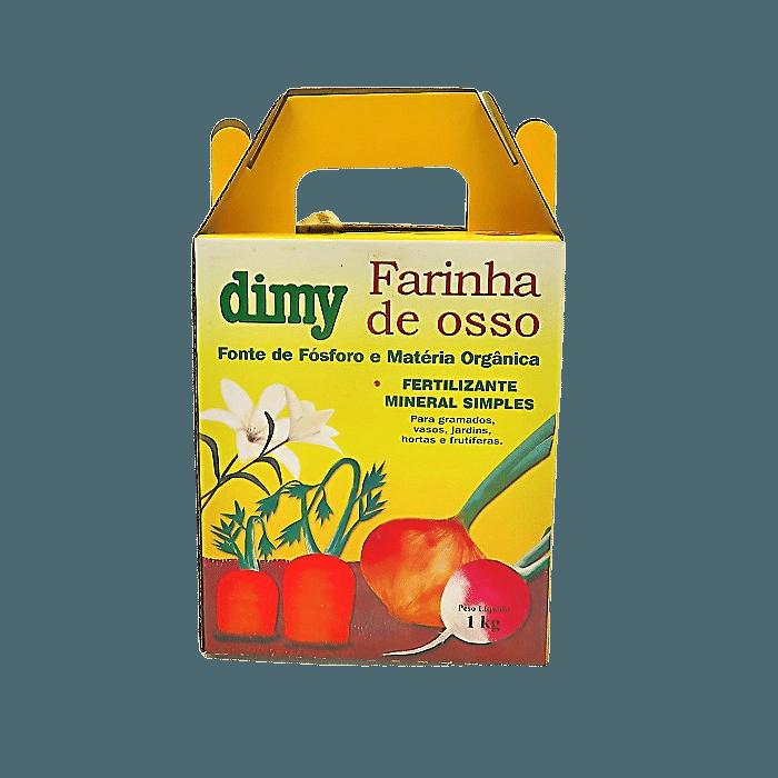 Fertilizante farinha de osso - dimy - 1 kg