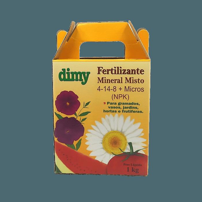 Fertilizante Mineral Dimy 04.14.08 - embalagem 1 kg