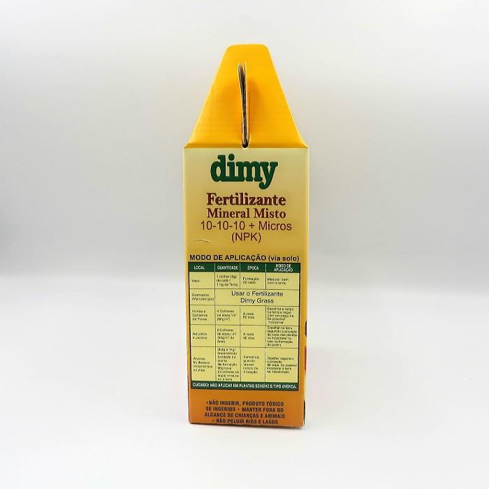 Fertilizante Mineral Dimy 10.10.10 - kit 2 x  1 kg