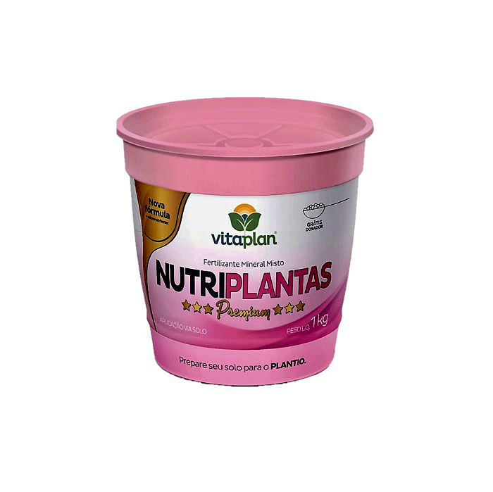Fertilizante Nutriplantas Premium - 1 kg + brinde - NPK 02-15-10