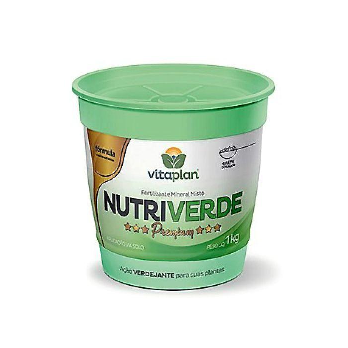 Fertilizante Nutriverde Premium - 1 kg + brinde  - NPK 13-13-15