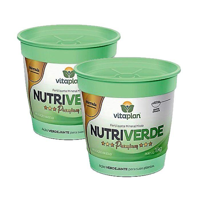 Fertilizante Nutriverde Premium Kit 2 x 1 Kg + brinde