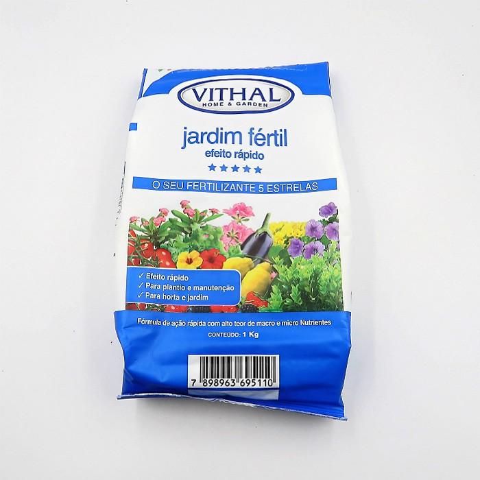 Fertilizante Vithal Jardim Fertil Efeito Rapido kit 6 x 1kg