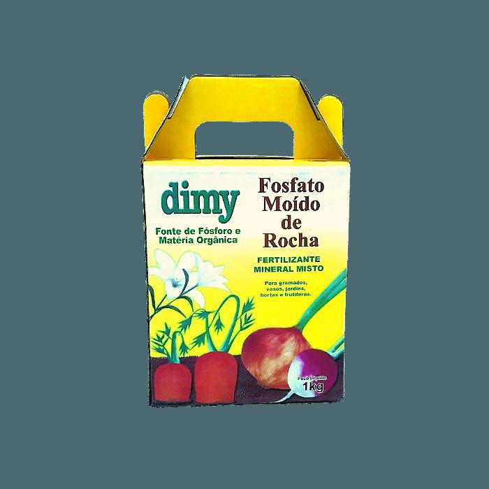 Fosfato moído de rocha - 1 kg - Dimy