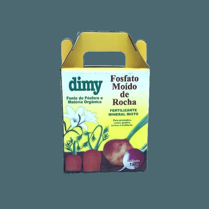 Fosfato moído de rocha - dimy - kit 2 x 1 kg