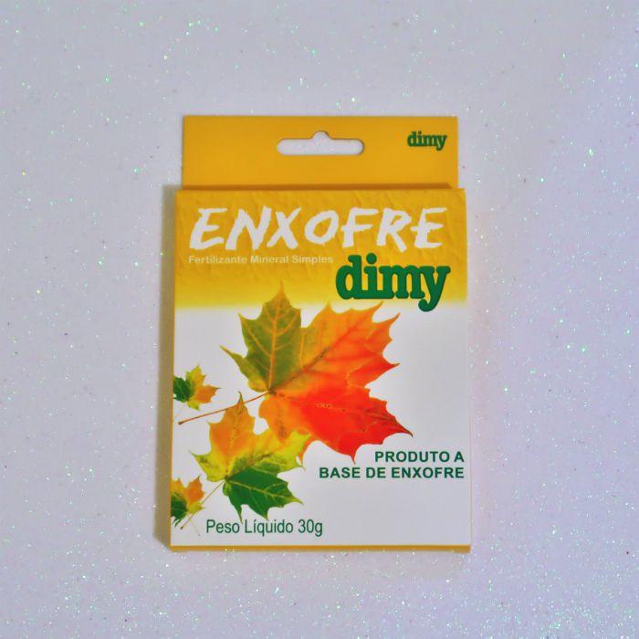 Fosfato moído de rocha + enxofre dimy 30 gr