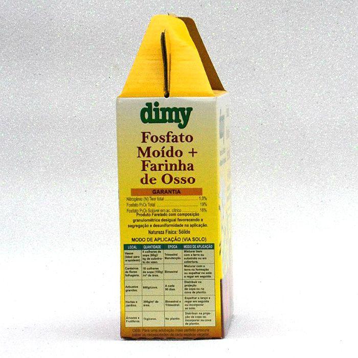 Fosfato moído + farinha de osso - dimy