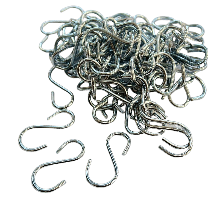 Gancho médio - 2,5 x 5 cm - kit 10 unidades
