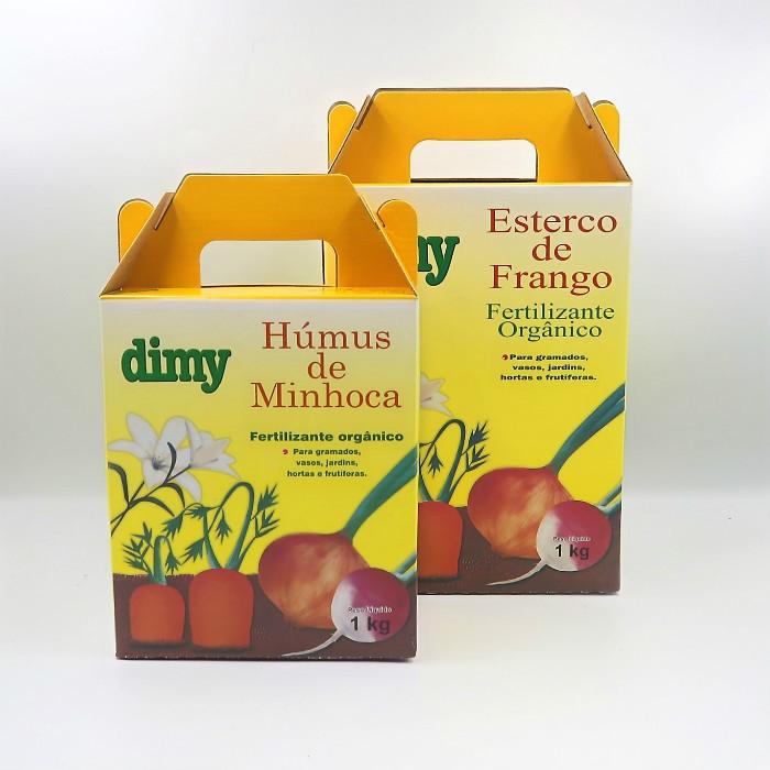 Humus de minhoca + Esterco de frango - Dimy