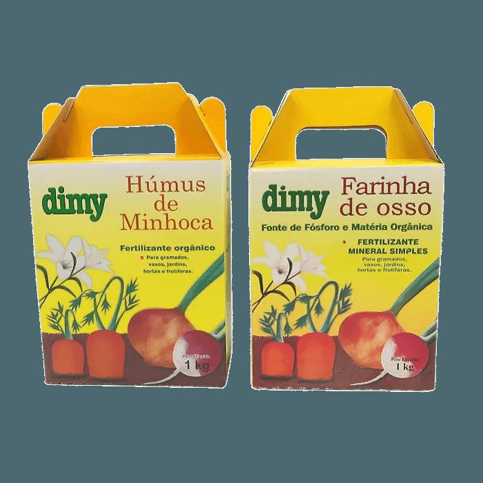 Humus de minhoca + Farinha de osso - Dimy