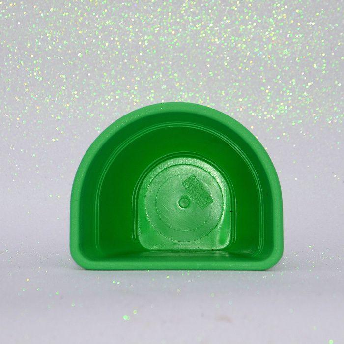Vaso de parede - verde - 15 cm - Kit 05 un + brinde