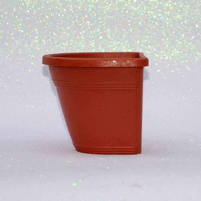 Vaso plástico de parede - vicenza - ceramica - 15 cm - kit 10 un