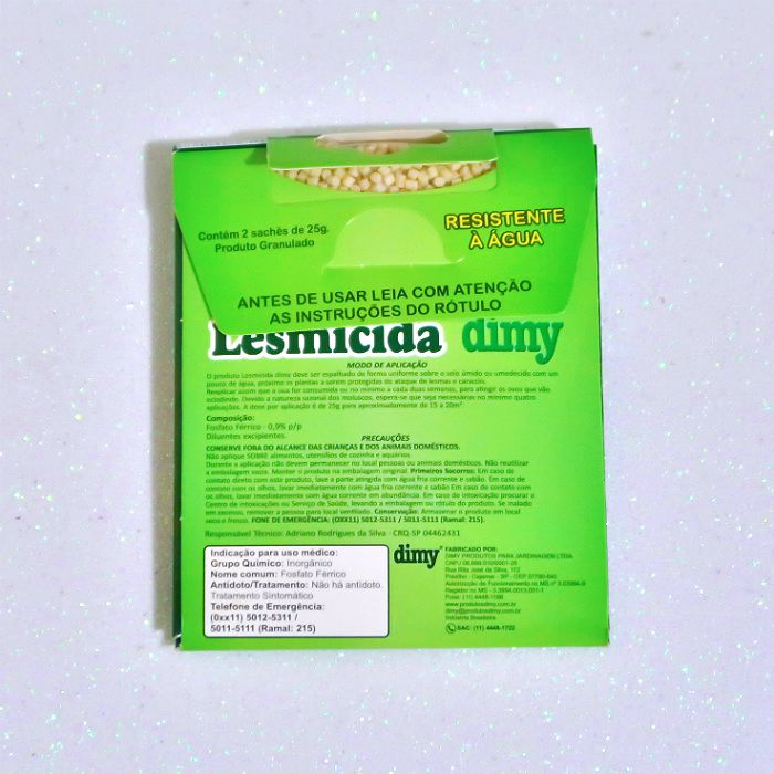 Lesmicida orgânico - 50 gr - dimy