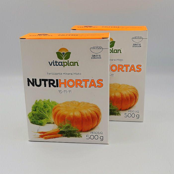 Nutrihortas - 500 gr- kit 12 caixas 500 gr