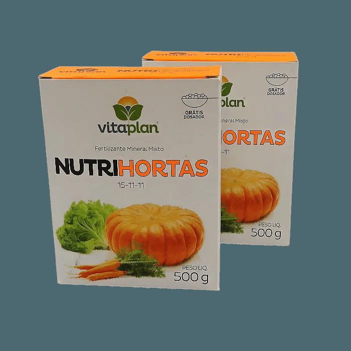 Nutrihortas - 500 gr- kit 2 caixas 500 gr