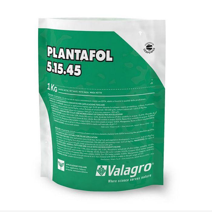 Plantafol -  05.15.45 - crescimento - kit 15 pacotes 1 kg