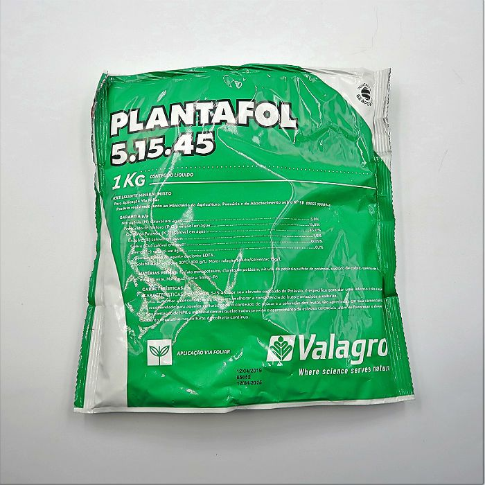 Plantafol - 05.15.45 - floração - 10 pacotes 1 kg