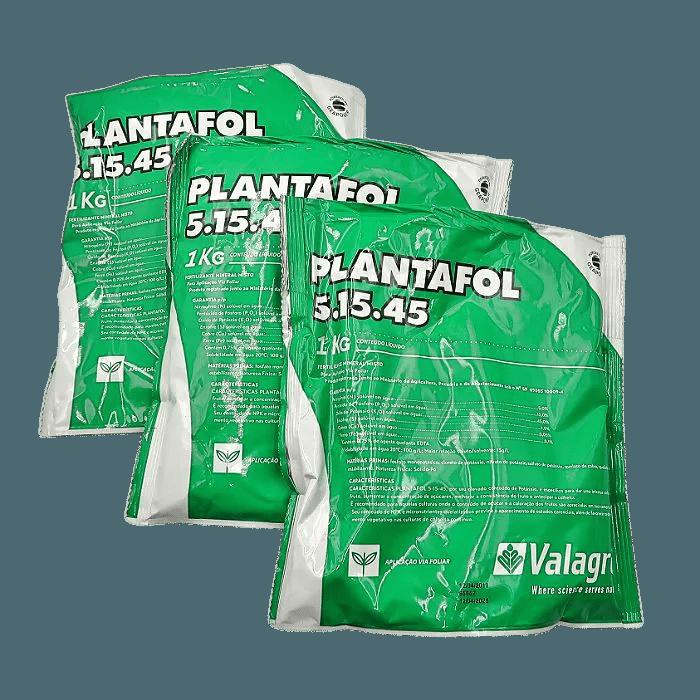 Plantafol - 05.15.45 - floração - kit 03 pacotes 1 kg