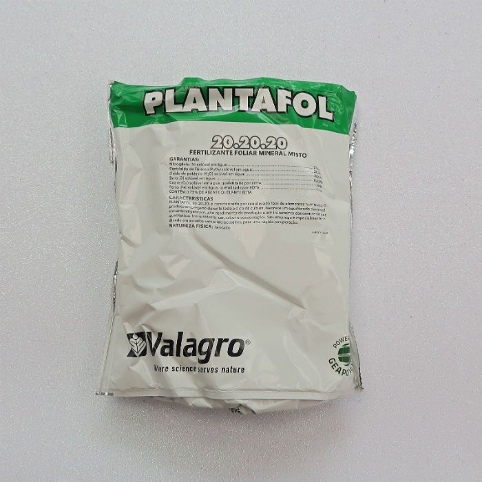 Plantafol -  20.20.20 - manutenção - kit 04 pacotes 1 kg