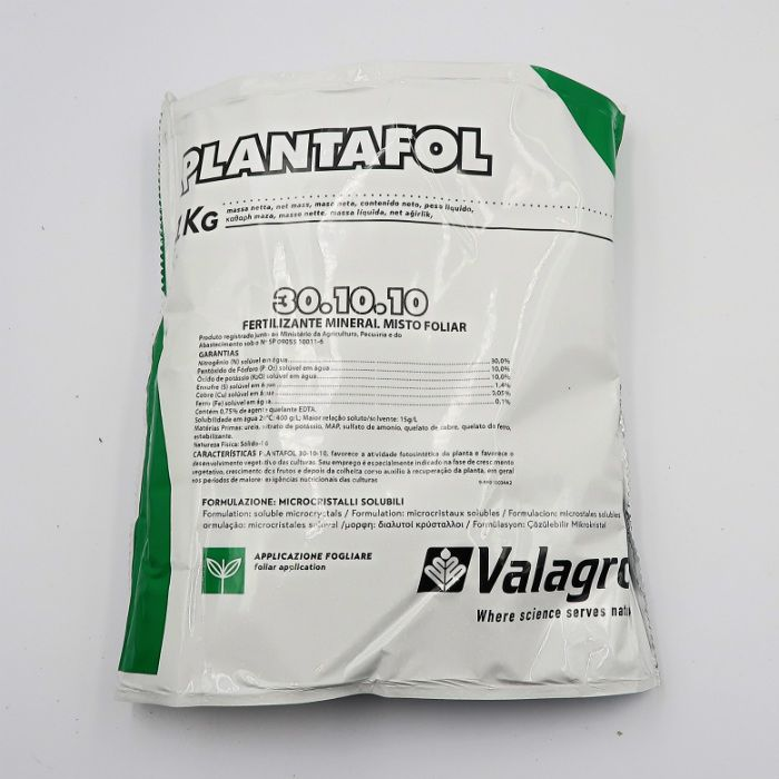 Plantafol - 30.10.10 - desenvolvimento - kit 10 pacotes 1 kg