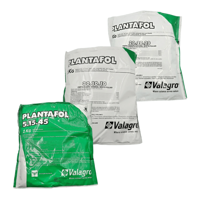 Plantafol 3 formulas - 05.15.45 - 20.20.20 - 30.10.10