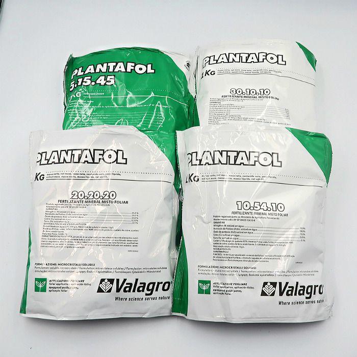Plantafol - 4 formulas - 05.15.45 - 30.10.10 - 20.20.20 - 10.54.10