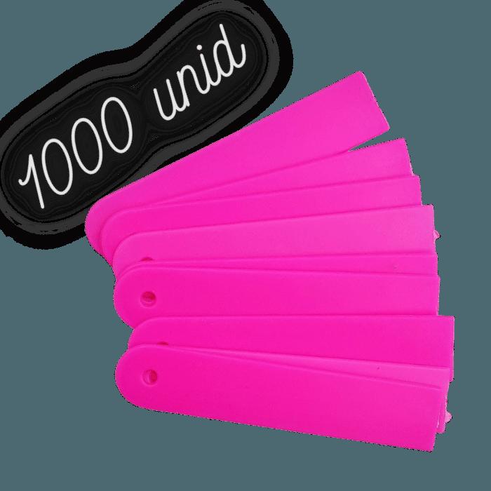 Plaquinha identificação rosa para plantas - 1000 unidades