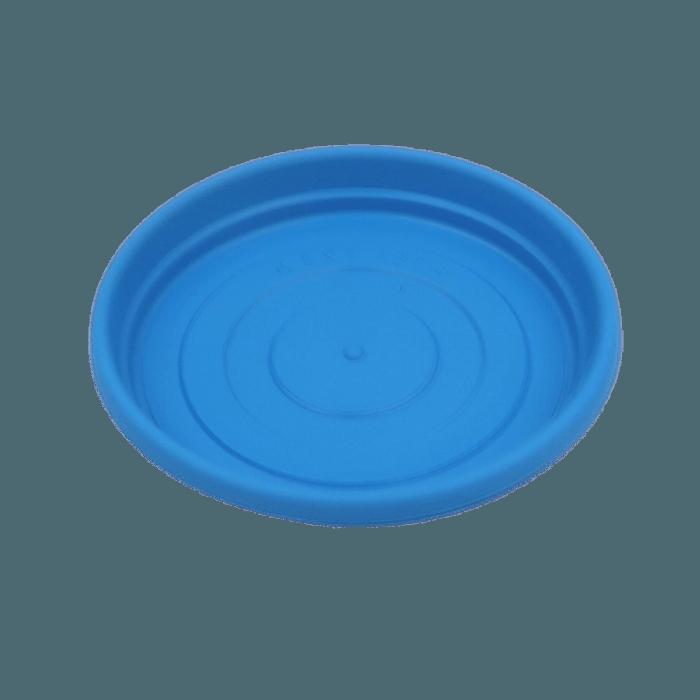 Prato plástico para vaso - AZUL - 09  cm