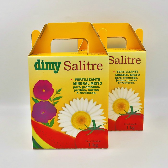 Salitre Dimy - kit 6 x 1 kg