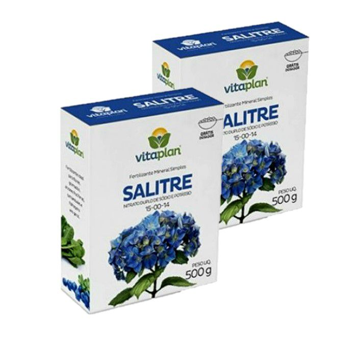 Salitre do Chile Vitaplan - kit 2 x 500 gr