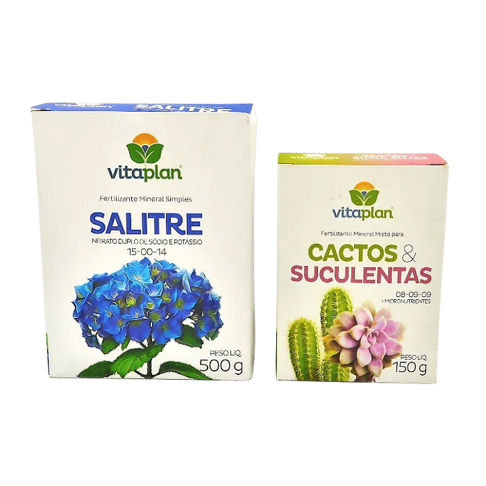 Salitre + fert. Cactos e suculentas - vitaplan
