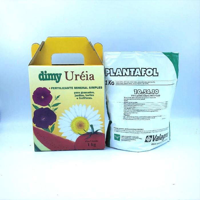 Ureia Dimy + plantafol 10-54-10