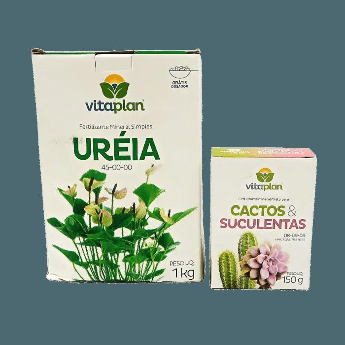 Ureia + fert. Cactos e suculentas - vitaplan
