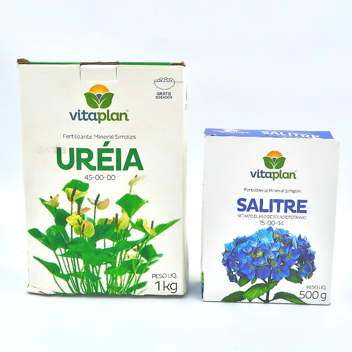 Ureia + salitre - vitaplan