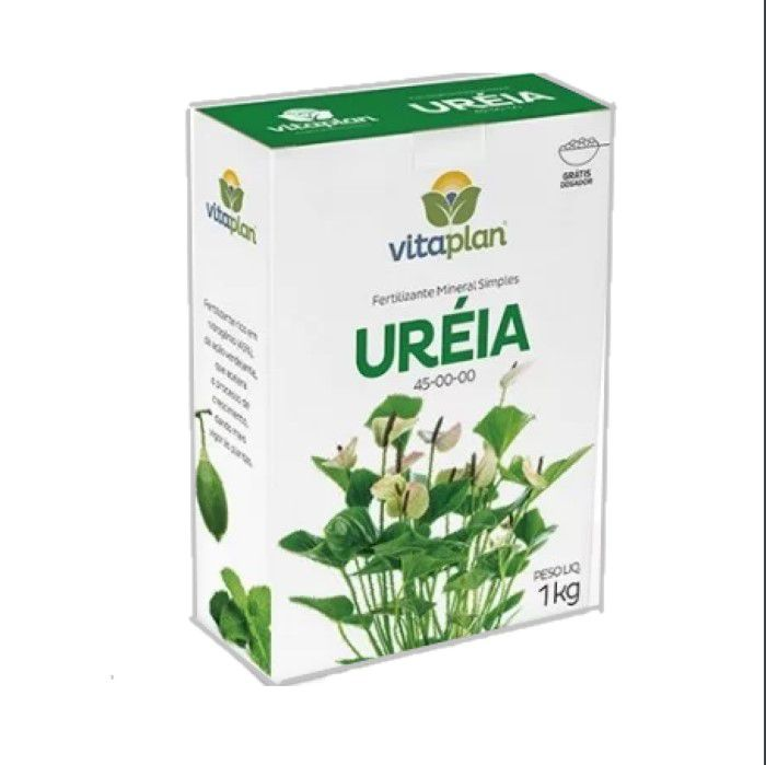 Ureia -  Vitaplan - kit 12 x 1 kg